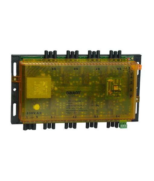 Distech Contrôleur d'éclairage CTR-8LD